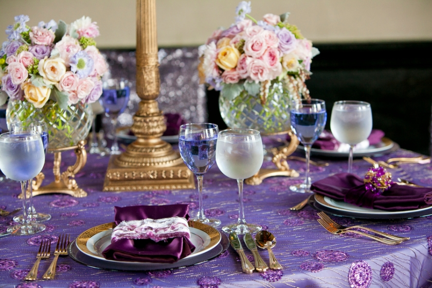 Perfectly Purple Wedding Palette – Love Station Design